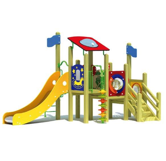 categoría juegos exteriores en madera