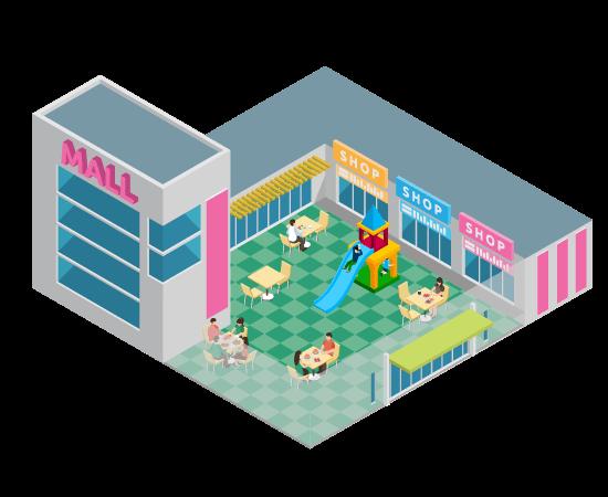 Juegos para Plazas Comerciales